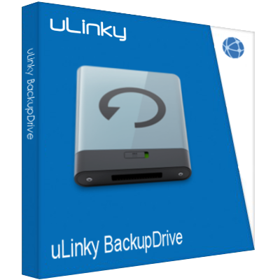 Image of the backup software uLinky BackupDrive